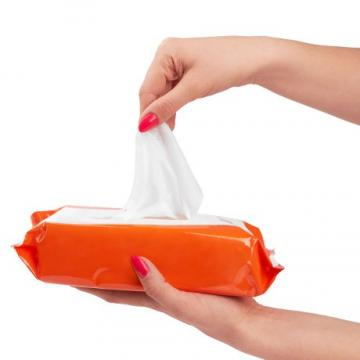 Potable Non-Alcoholic Spunlace Cleaning High Quality Baby Wet Wipes