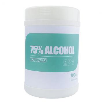 Customized 75% Alcohol Disinfectant Antibacterial Sanitizer Hand Wipes